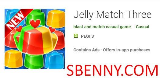 gelatina match three