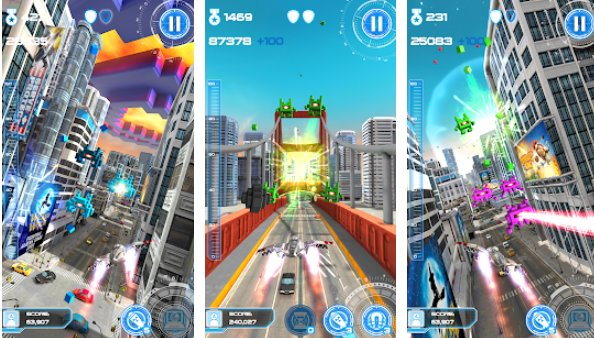 Jet Run City Defender APK Android