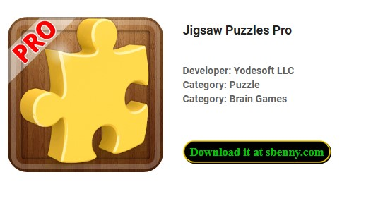 Jigsaw Puzzles Pro APK Android Free DOwnload
