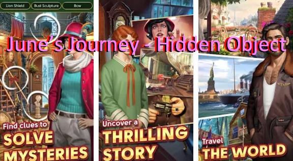 junio s viaje de objetos ocultos