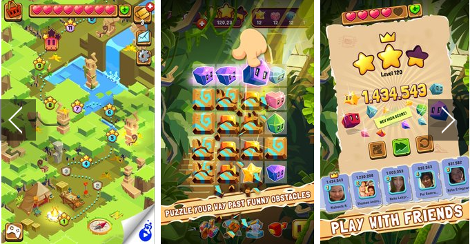 jungle cubes APK Android