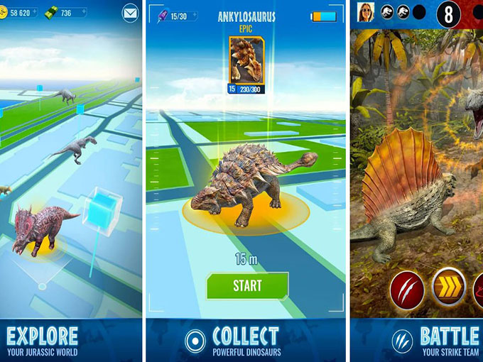 Jurassic World™ Alive Unlimited Battery Hack MOD APK Download