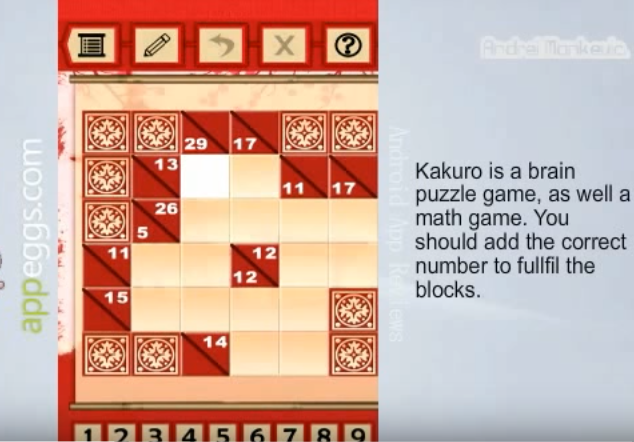 Kakuro puzzles apk for android free download - Kakuro cross sums combinations table ...