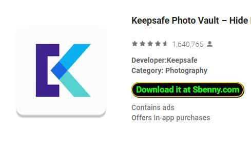 Keepsafe Photo Vault MOD APK Android Download