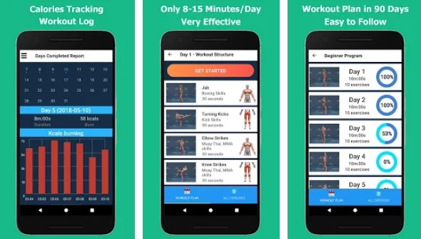 kickboxing fitness y defensa personal APK Android