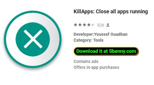 KillApps: Close all apps running MOD APK Android Download