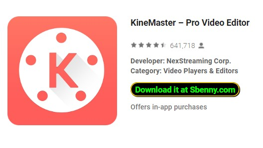 kinemaster video editing app free download