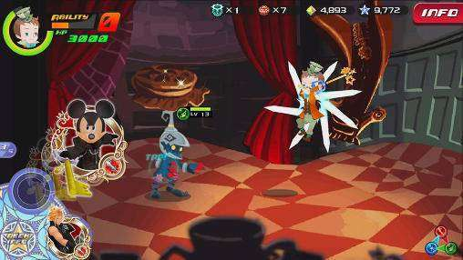 KINGDOM HEARTS Unchained χ APK Android Game Free Download