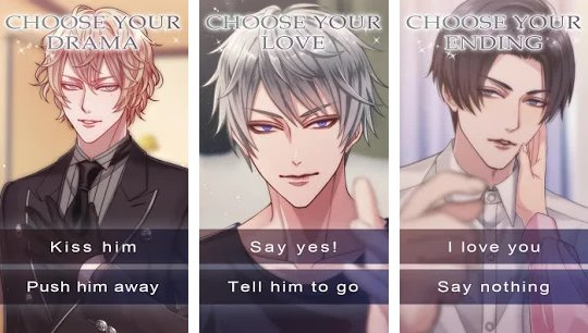 kiss of darkness romance you choose APK Android