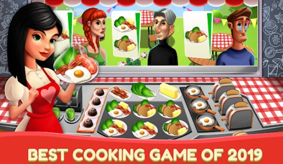 kitchen fever pro cooking games and food restaurant APK Android