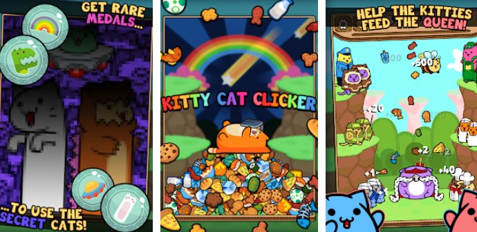 Kitty Cat Clicker - Hungry Cat Feeding Game + MOD