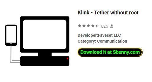 Klink - Tether without root MOD APK Android Download