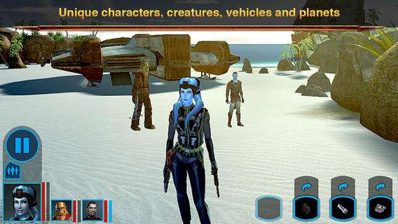 Knights of the Old Republic ™ APK + DATI Android Scarica