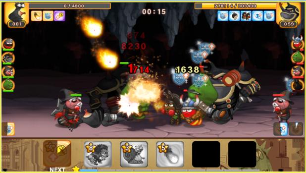 héroes larva liga en línea Android APK
