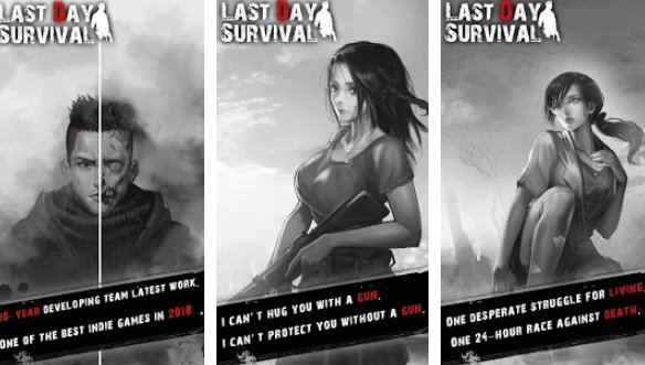 last day survival zombie shooting 24 h dark dungeon APK Android