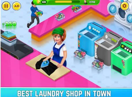 Wäscheservice schmutzige Kleidung Waschen Spiel APK Android