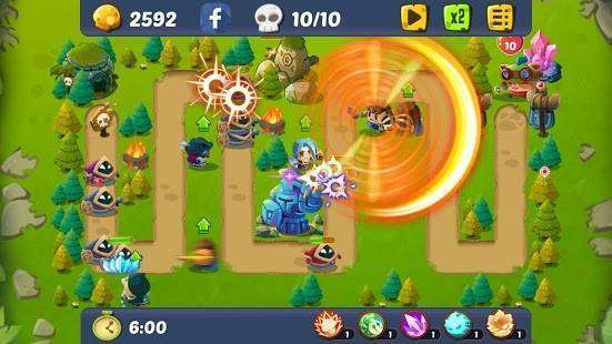 League of Hero Defenders MOD APK Android
