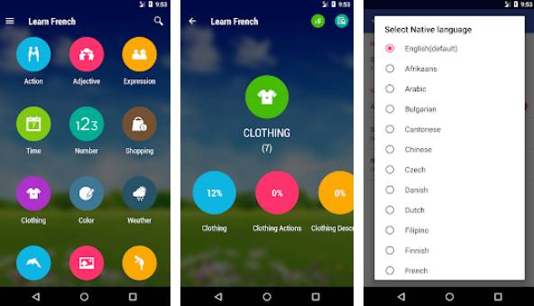learn french free APK Android
