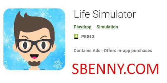 simulateur de vie