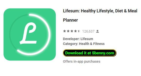 lifesum app de vida saludable