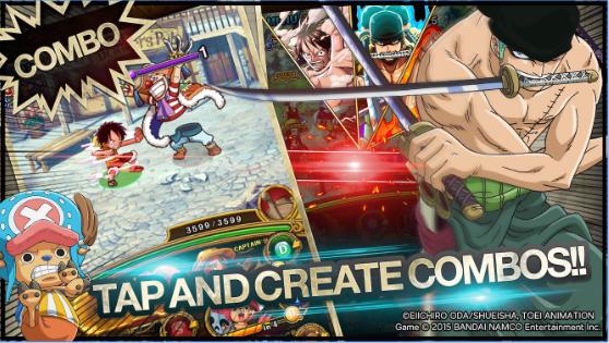 sbenny.com line one piece treasurecruise 2 - One Piece Treasure Cruise 1 Hit Kill & God Mode MOD APK