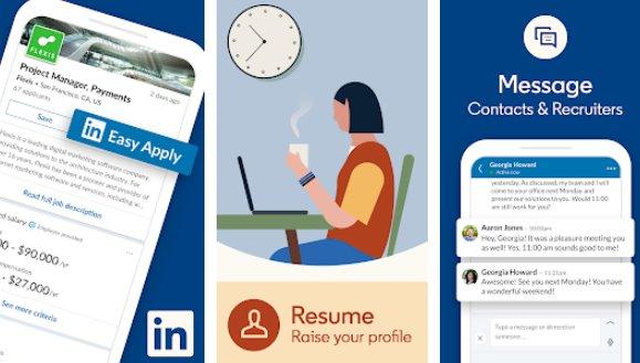 LinkedIn empleos noticias de negocios y redes sociales APK Android