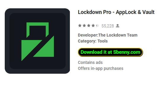 Lockdown Pro MOD APK Android Free Download