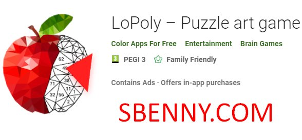 LoPoly – Puzzle art game + MOD