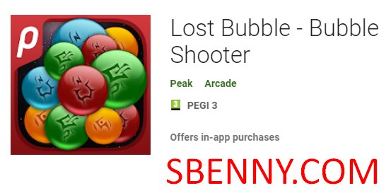 lost bubble bubble shooter