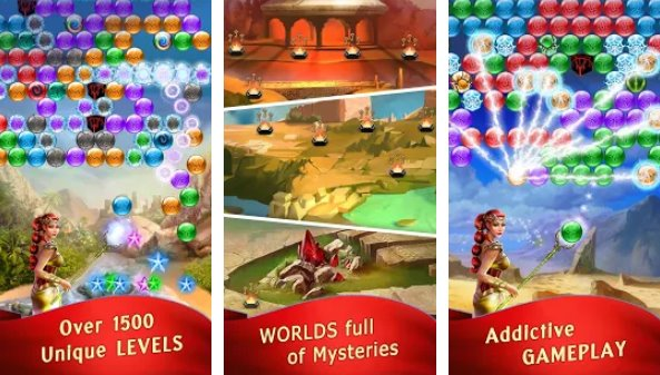 lost bubble bubble shooter APK Android