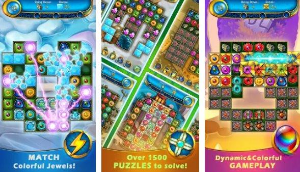 ġawhar mitlufa jaqblu ma '3 puzzle APK Android