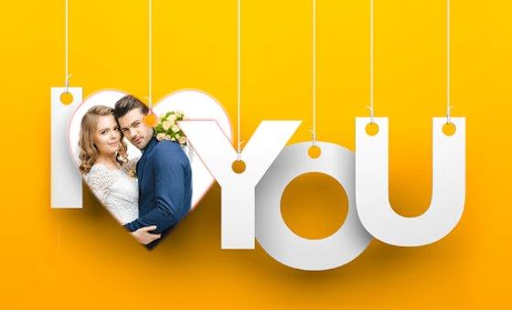 marcos de fotos de amor editor de fotos de amor romántico APK Android
