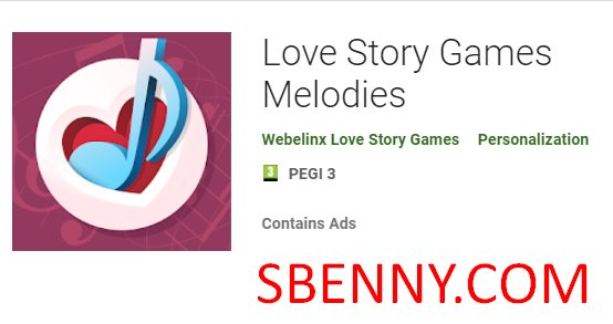 любовные истории игры мелодии