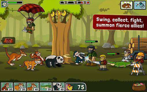 Lumberwhack: Defenda the Wild MOD APK Android Download