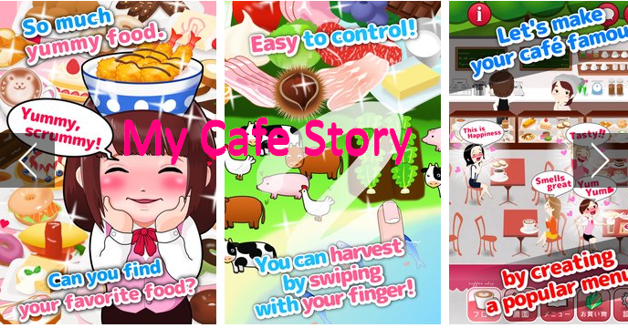My Cafe Story MOD + APK Game for Android Free Download