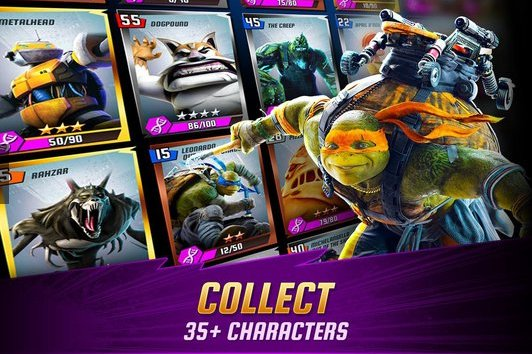 Ninja Turtles Legends APK Android