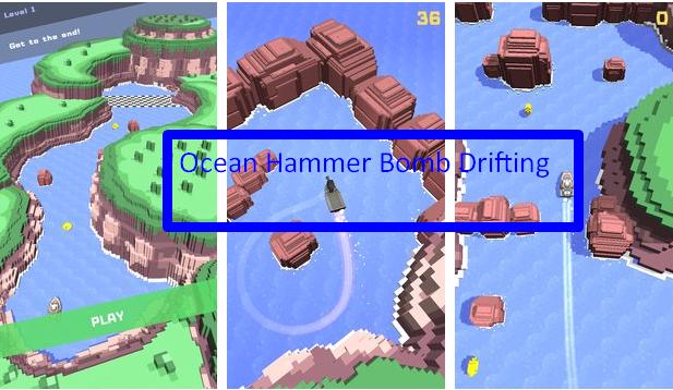 Ozean-Hammer Bomb Driften