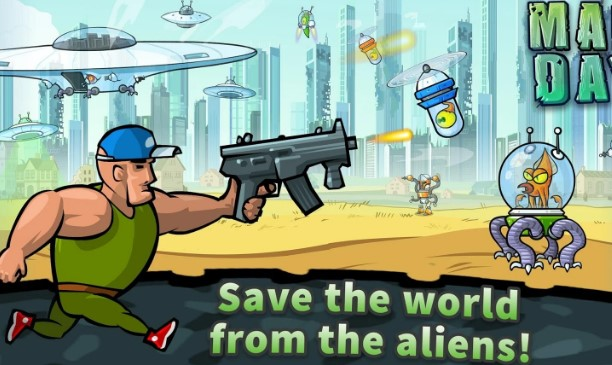 🎮 MOD APK - Mad Day 2: Shoot the Aliens v1 1 Hacked (New