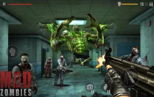MAD ZOMBIES : Offline Zombie Games Unlimited Gold MOD APK