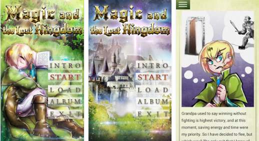 magic and the lost kingdom