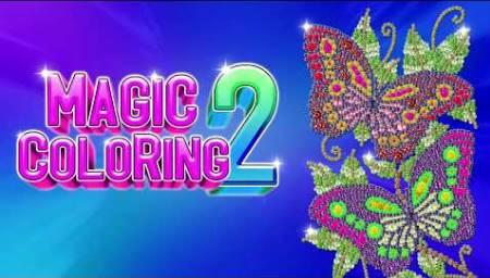 coloração mágica número colorir