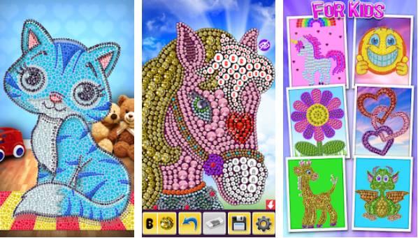 coloração mágica número colorir APK Android