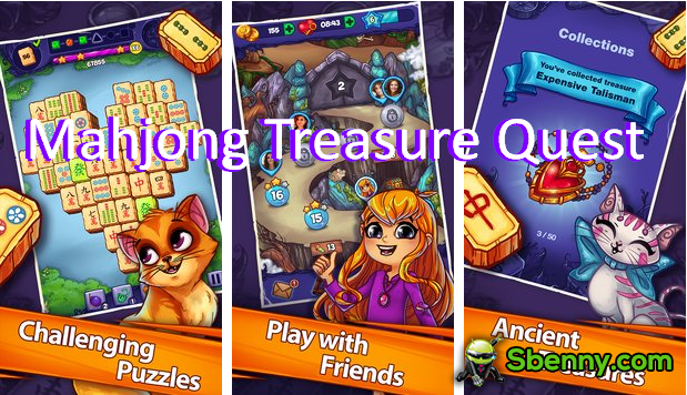 Mahjong Treasure Quest APK Unlimited Money MOD Download