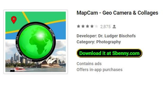camara geográfica mapcam e colagens