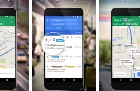 maps navigation and transit APK Android