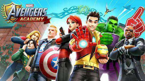 marvel avengers academy mod apk 2018