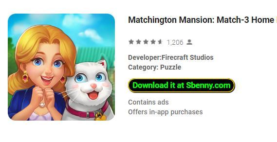 Matchington Mansion Unlimited Stars & Coins MOD APK Download