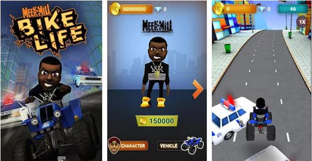 Meek Mill präsentiert Bike Leben MOD APK Android Spiel kostenlos heruntergeladen werden