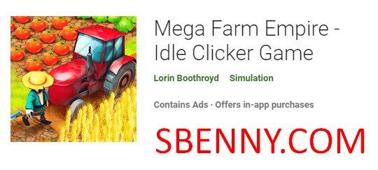 mega farm empire juego inactivo clicker