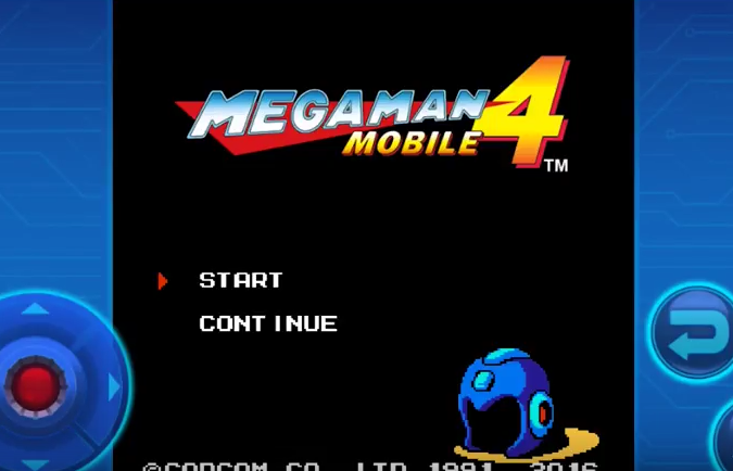 MEGA MAN 4 MOBILE APK Android Free Download